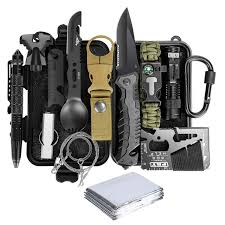 <b>Emergency Survival</b> kit 14 in 1 <b>Survival</b> Gear Tactical <b>Survival</b> Tool ...
