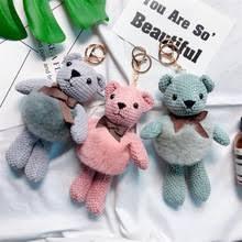 Кролик рекс мех животных юбка милый плюшевый медведь кукла ...