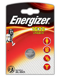<b>Батарейка Energizer Lithium CR1632</b> 1шт 1162334: купить за 251 ...