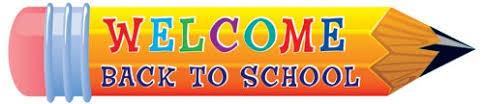 Résultats de recherche d'images pour «welcome back to school»