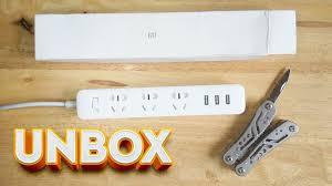 Unboxing: Cheap $5 Xiaomi <b>Mi Power Strip 3</b> Sockets / 3 USB Ports ...