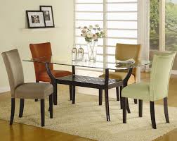 dining table parson chairs interior: coaster bloomfield microfiber parson side chair coaster fine furniture