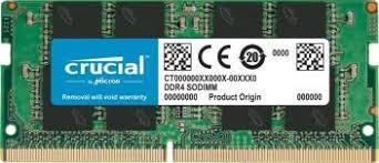 CRUCIAL <b>DDR4 16GB</b> 2666MHz 260-Pin SODIMM <b>Laptop</b> Memory ...