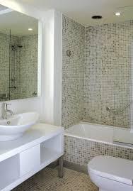 open shower tile feature wall tiles