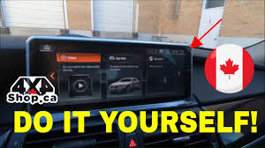 """DIY How To Install 10.25"""" Android Screen BMW X5 X6 E70 E71 With ..."""
