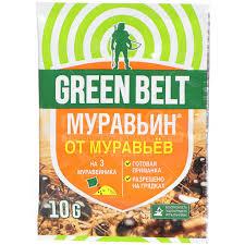 <b>Инсектицид от муравьев</b> Муравьин, 10 г, Green Belt в Москве ...