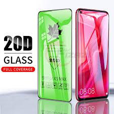 <b>20D</b> Full Cover <b>Tempered Glass For</b> Huawei P30 Mate 20 Lite P20 ...