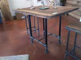 pub tables pipes and black pipe on pinterest black iron pipe table