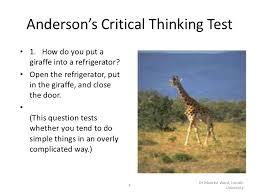 Critical Thinking   Watson Glaser II