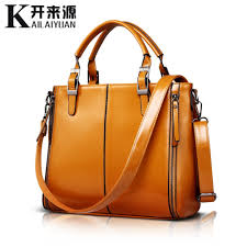 <b>KLY 100</b>% <b>Genuine leather</b> Women handbags 2019 New Fashion ...