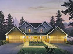 Multi Family Home Plans   House Plans and MoreMulti Family House Plans