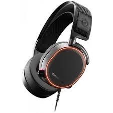 Наушники с микрофоном <b>Steelseries Arctis Pro черные</b> 3м ...