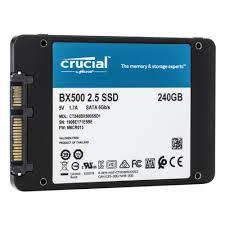 <b>SSD</b> диск <b>Crucial</b> 2.5 <b>BX500</b> 240 Gb SATA III 3D NAND ...