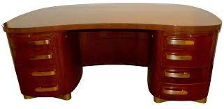professional art deco desk by stow davis pedestal base art deco furniture cabinet