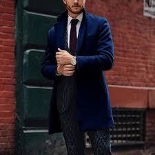 <b>British</b> style <b>solid color</b> pocket slim <b>men's</b> coat | <b>Mens</b> coats, <b>British</b> ...