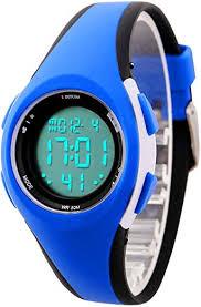 Kids <b>Digital Sport</b> Watch Outdoor <b>Waterproof</b> LED Watch with Alarm ...