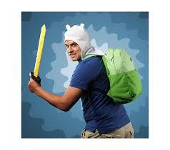≡ <b>Рюкзак Bioworld</b> Adventure Time Finn's Bag c капюшоном ...