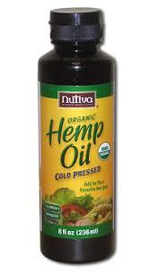 <b>Конопляное масло</b> Nutiva <b>Hemp Oil</b> 236 мл
