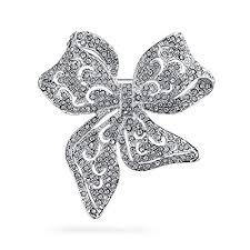Bling Jewelry Large Vintage Style Statement Ribbon ... - Amazon.com