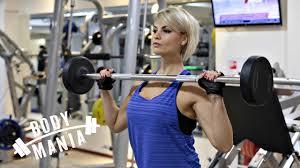 Красивые и <b>женственные</b> дельты. IFBB PRO Анна Стародубцева ...