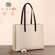 <b>EIMORE Large Capacity Handbags</b> Women Genuine Leather Big ...