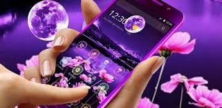 <b>Purple Moon</b> Lake Flower Theme - Apps on Google Play
