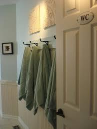 decorative bathroom towel hooks