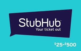 Stubhub Gift Card | Kroger Gift Cards