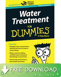 water treatment for dummies special edition