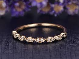 Engagement Ring,Solid 14k Yellow Gold,Half Eternity ... - Amazon.com