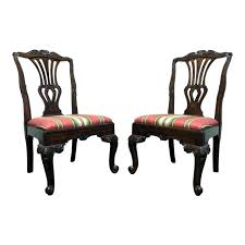 HEKMAN Marsala French Country <b>Oak Dining</b> Side <b>Chairs</b> Pair 2 ...