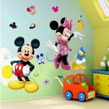 nursery wall decals hippo decor mickey mouse minnie vinyl mural wall sticker decals kids nursery room