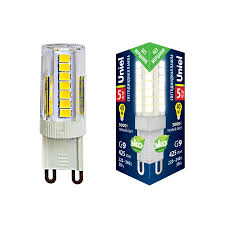 <b>Лампа</b> светодиодная (UL-00006748) <b>Uniel G9 5W</b> 3000K ...