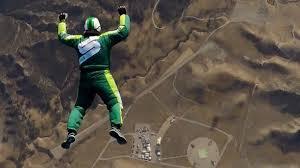 Luke Aikins No Parachute 25000 Feet Airplane Jump Complete Video