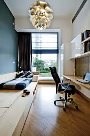 contemporary home office by ample design bedroom guest office combination