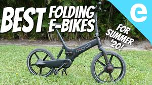 Top 5 <b>folding</b> e-<b>bikes</b> tested for Summer 2020 - YouTube