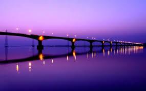 Image result for Mahathma Gandhi Sethu/river Ganga/