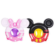 Mickey Mouse <b>Cartoon Kids Swimming Ring</b> Baby Inflatable Pool ...