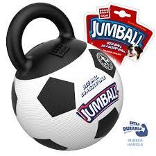 <b>GIGWI JUMBALL</b> Мяч с захватом, резиновый 26см