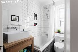 small tile bathroom manhattan home bathroom renovation in nyc sweeten karen kitchen bathroom  bathroom re