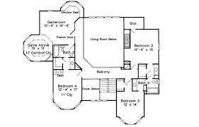 Glorious Queen Anne Victorian   GT   st Floor Master Suite    Reverse Floor Plan Pinit white