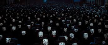v for vendetta truly revolutionary or just designed to look that v for vendetta masks