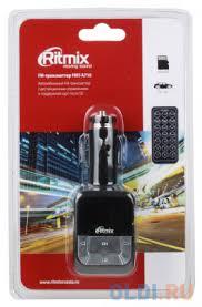Автомобильный <b>FM</b>-модулятор <b>RITMIX FMT</b>-<b>A710</b> — купить по ...