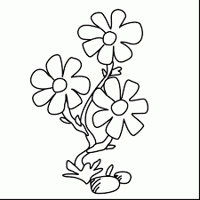 Small Picture Unbelievable small flower coloring pages with flower coloring