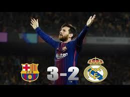 Fc Barcelona Vs Real Madrid 3-2 highlights HD - YouTube