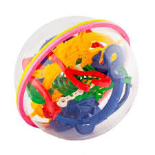 <b>Головоломка Track Ball</b> 3D - 17 см 118 ходов