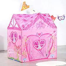 Kids Tent Princess Pink Flower Play Tent for Indoor ... - Amazon.com