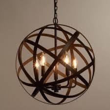 metal orb chandelier chandelier pendant lighting