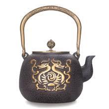 Японский чугунный кунг-фу <b>заварочный чайник</b> Тотем двойной ...