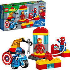LEGO DUPLO Super Heroes Lab 10921 Marvel ... - Amazon.com